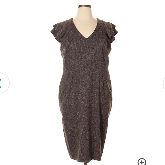 Anna Scholz Dresses & Skirts - Lined Work Dress